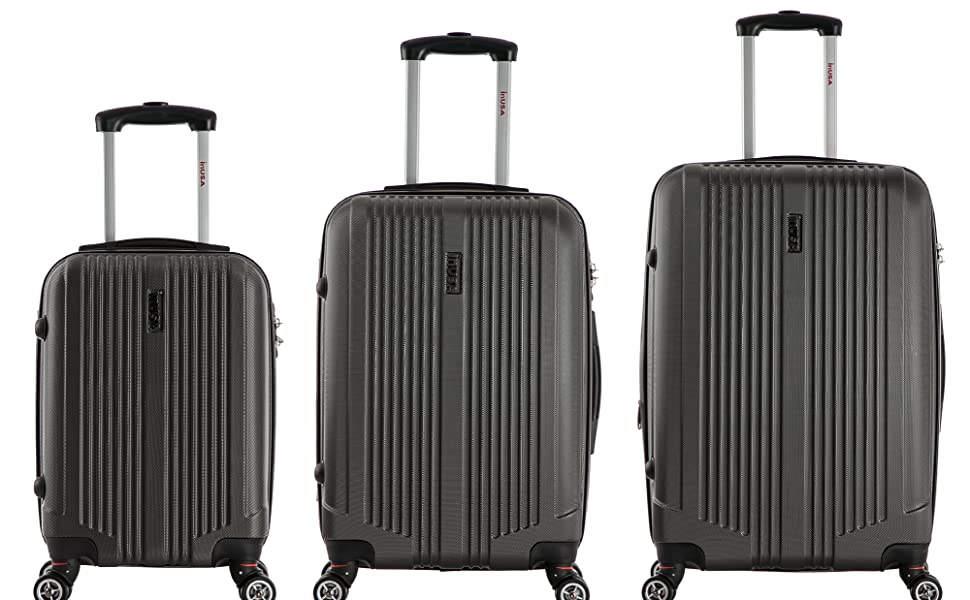 Luggage Set Suitcase Hardise Wheels Telescopic handle tsa lock lightweight