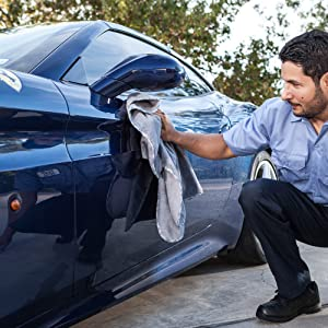 Gray Microfiber Towels For Cars