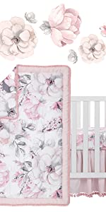 Botanical Baby Crib Bedding Set