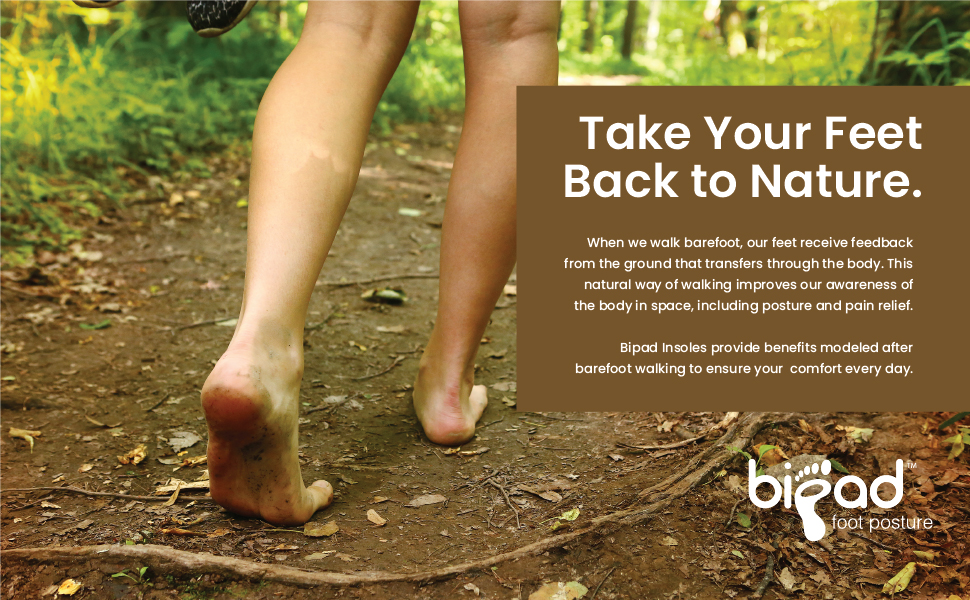 take your feet back to nature