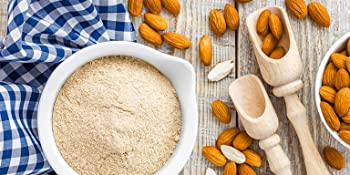 almond flour, food to live
