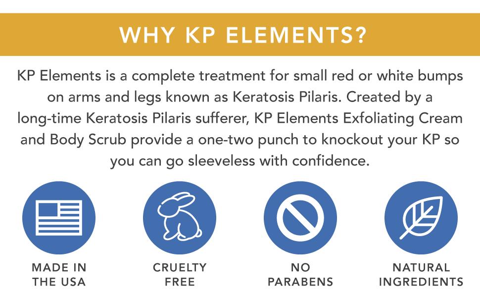kp elements chicken skin keratosis pilaris