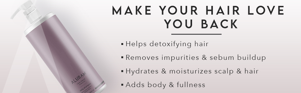 Hair hydrating shampoo with marula oil