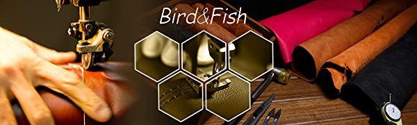 Bird&Fish Business Card Holder