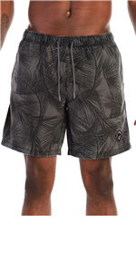 Men's Washed Fabric Quick Dry Swim Trunks