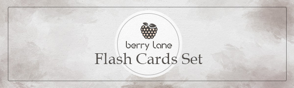 Berry Lane Flash Cards for Toddlers