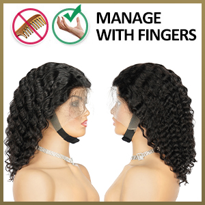 How to Take Care Your Curly Bob Wigs