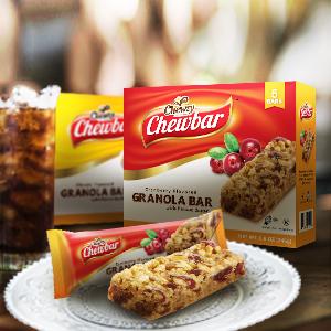 Chewzy Peanut Butter Granola bars