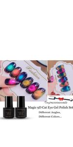 9D Cat Eye Gel Polish Set