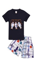 boy shorts set