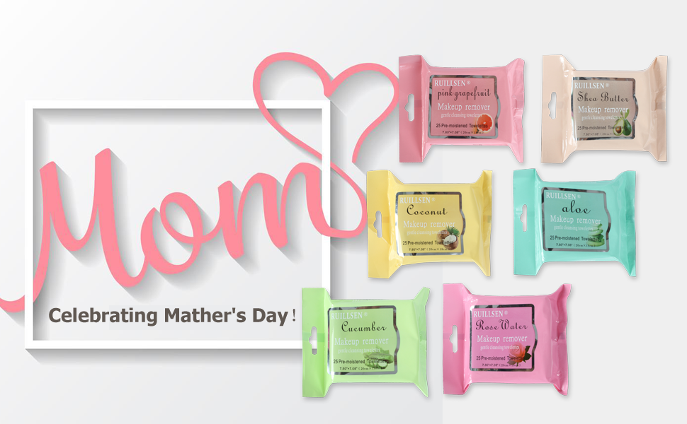 happy mother women april fool back to school valentine gift happy WATERFUL CLEANSING MAKEUP REMOVER