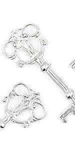Crown Key skeleton key bottle opener