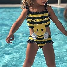 baby girl beach suit