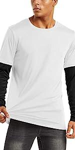 jogging shirts men