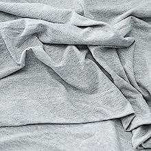 Textured weave Cotton Tencel Jersey