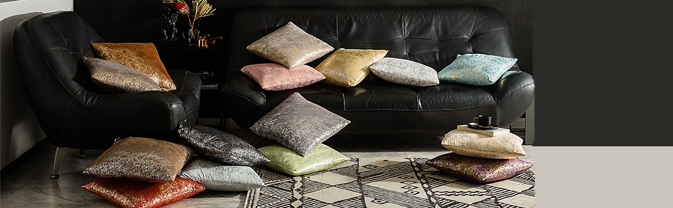 decorative grey pillows with zipper for couch throw metallic pillow elegant throw pillows for couch