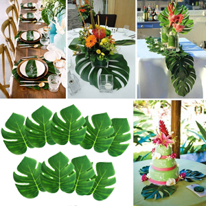 """8"""" Tropical Palm Leaves"""