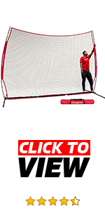 PowerNet 12 ft x 9 ft Sports Barrier is great to protect car and house windows from multiple sports.