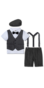 Baby Boys Gentleman Outfit Suit