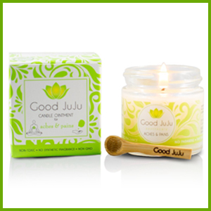 This candle and pain relief balm is pure and ethically sourced