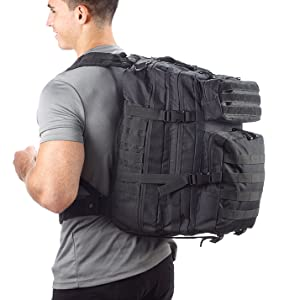 Evertac backpack black
