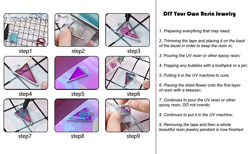 DIY Open Bezels