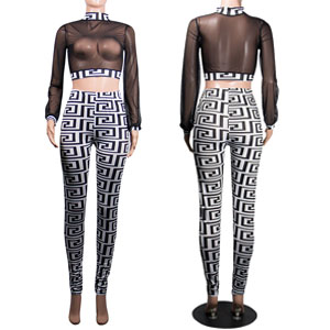 White Two Piece Outfits for Women