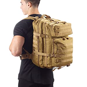 Evertac backpack tan