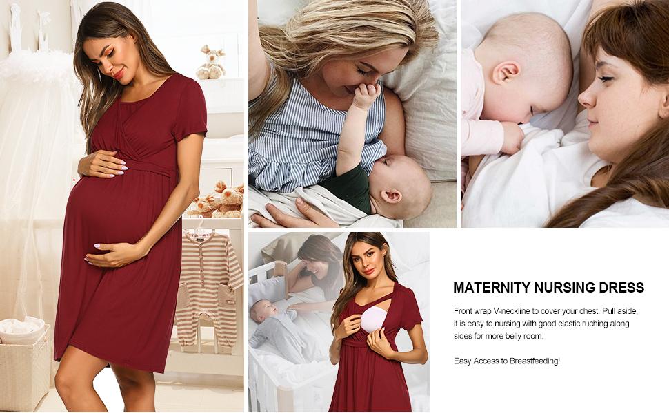 nursing dresses for women