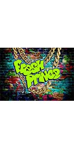 Colorful Graffiti Brick Photography Backdrop 80s 90s BirthdayProm Shower 5x3ft
