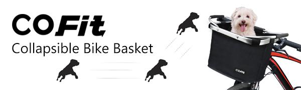 cofit collapsible bike basket