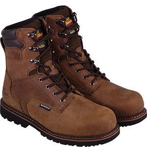 "Thorogood Men's V-Series 8"" 400g Insulated Waterproof, Composite Safety Toe Boot"