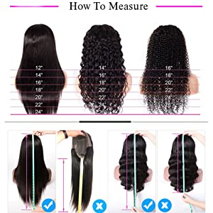 How to Measure Your Wigs