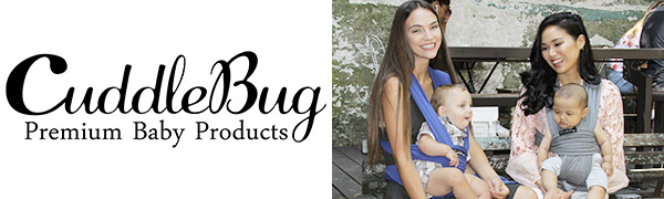 CuddleBug Baby Wrap Carrier Sling