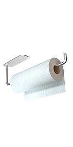 Paper Towel Holder Silver