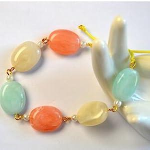Imitation Gemstone Acrylic Spacer Beads