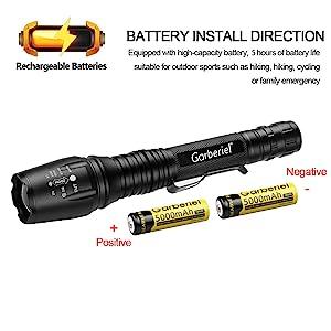 Battery Install Way
