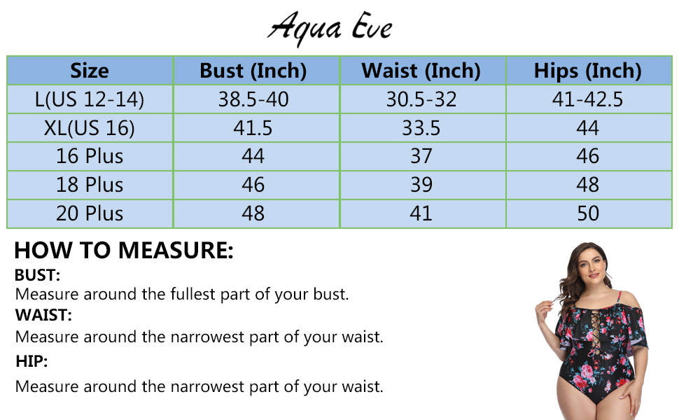 Plus Size One Piece Swimsuits for Women Tummy Control Ruffle Bathing Suits