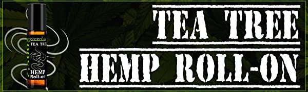 Tea Tree Hemp Essential Oil Roll On