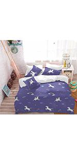 Unicorn Comforter Cover