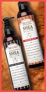 Shea Nilotik' Body Oil Collection