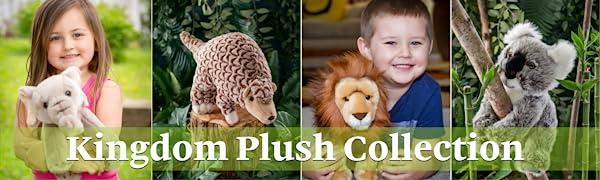 stuffed animals plush wildlife kids furry zoo floppy