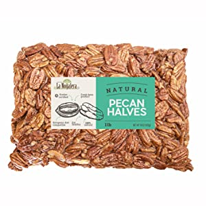 1 once lb pound natural raw pecan halves compare to organic delicious no shell unshelled unsalted