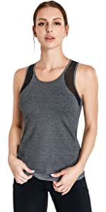 tank tops running gym yoga removeable bra cup