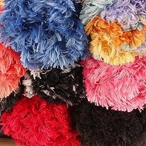fun fur faux yarn