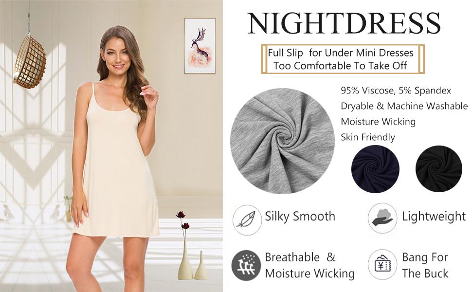 TIKTIK full slips for under dresses