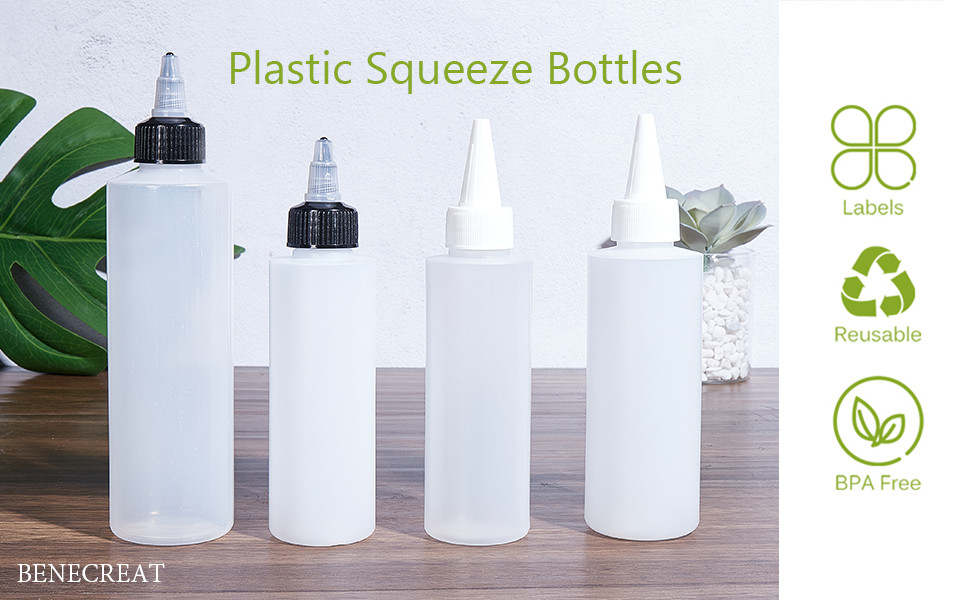 plastic squeeze bottle