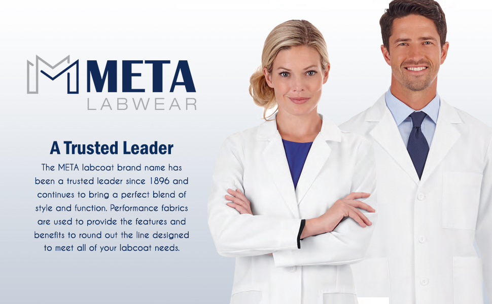 White Swan Brands Meta Labwear Lab Coats Medical Healthcare Uniforms Fashion