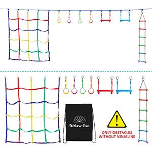 ninja obstacle line
