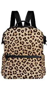 Leopard Casual Backpack